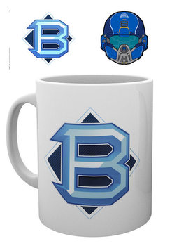 Taza Halo 5 - PVP Blue
