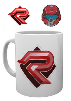 Taza Halo 5 - PVP Red