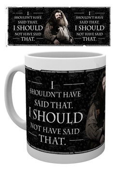 Taza  Harry Potter - Hagrid Quote