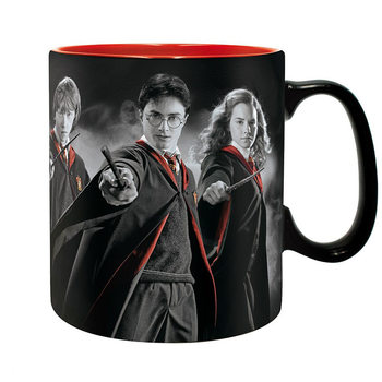 Taza  Harry Potter - Harry, Ron, Hermione