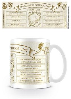 Taza  Harry Potter - Hogwarts School List Books