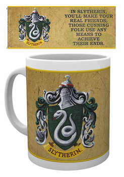 Taza  Harry Potter - Slytherin Characteristics