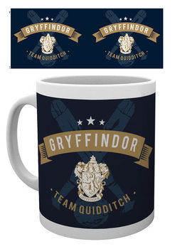 Taza  Harry Potter - Team Quidditch