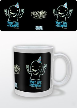 Taza  Humor - Party Like a Monstar, David & Goliath