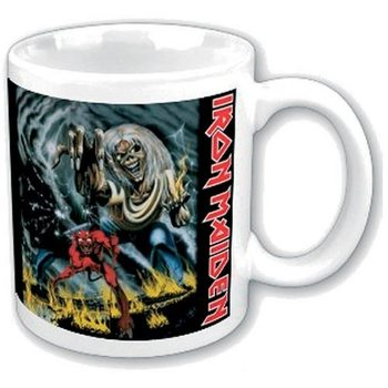 Taza  Iron Maiden - Number of the Beast