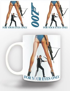 Taza  James Bond - for your eyes