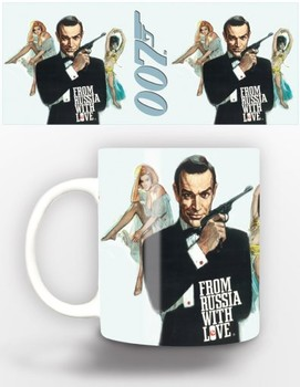 Taza James Bond - from russia with love