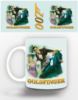 Taza James Bond - goldfinger