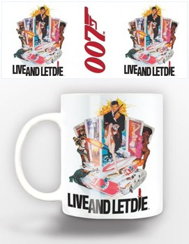 Taza James Bond - live and let die