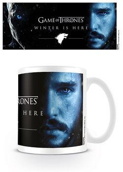 Taza Juego de Tronos: Winter Is Here - Jon