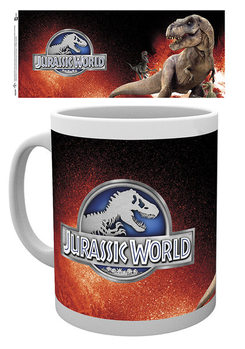 Taza Jurassic World - T-Rex Red