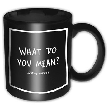Taza  Justin Bieber - What Do You Mean