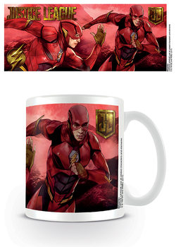 Taza  La Liga de la Justicia- Flash Action