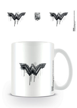 Taza  La Liga de la Justicia- Wonder Woman Logo Drip