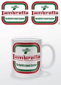 Taza Lambretta - Logo