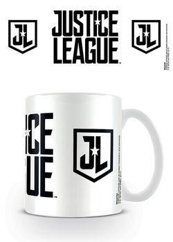Taza Liga de la Justicia - Logo Stencil