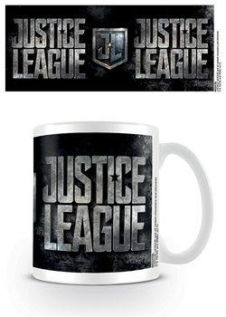 Taza Liga de la Justicia - Metallic Logo