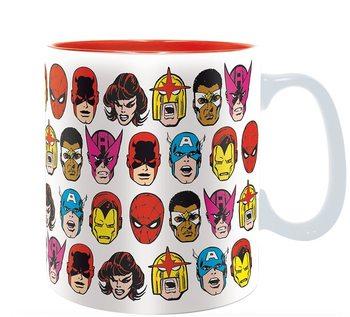 Taza Marvel - Marvel Heads
