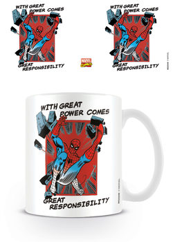 Taza  Marvel Retro - Great Responsibility
