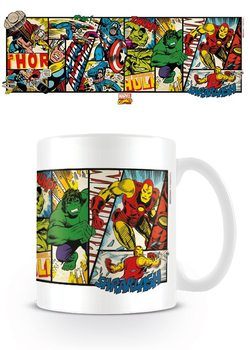 Taza  Marvel Retro - Heroes Panels