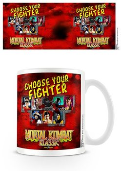 Taza Mortal Kombat - Choose Your Fighter