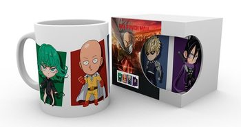 Taza  One Punch Man - Chibi Characters