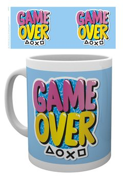 Taza  Playstation - Game Over