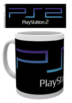Taza Playstation - PS2 Logo