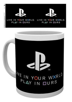 Taza Playstation - World