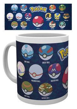 Taza  Pokémon - Ball Varieties