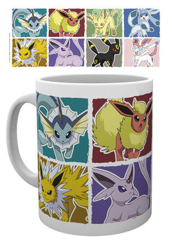 Taza Pokemon - Eevee Evolution
