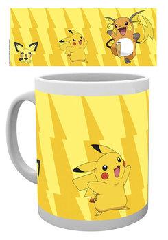 Taza Pokémon - Pikachu Evolve