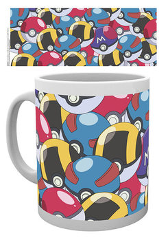 Taza  Pokemon - Pokeballs