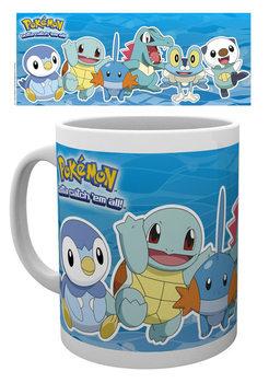 Taza Pokémon - Water Partners