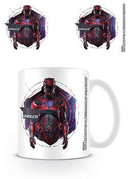 Taza  Power Rangers - Red Ranger