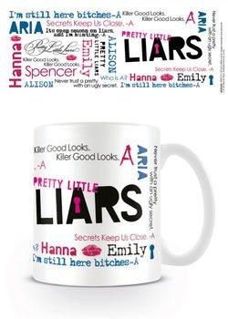 Taza Pretty Little Liars (Pequeñas mentirosas) - Montage