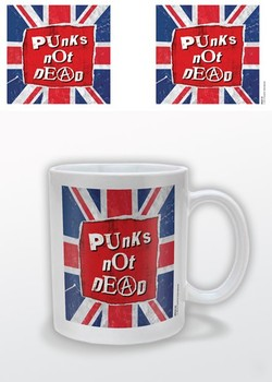 Taza Punk's Not Dead