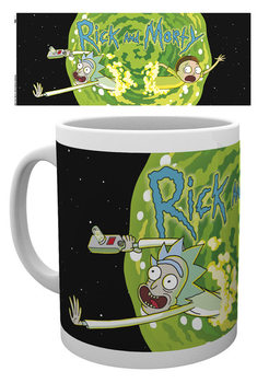 Taza  Rick And Morty - Logo