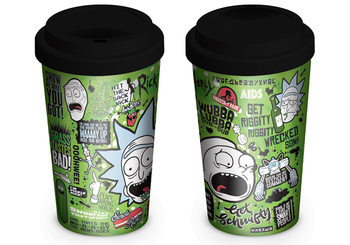 Taza  Rick and Morty - Quotes