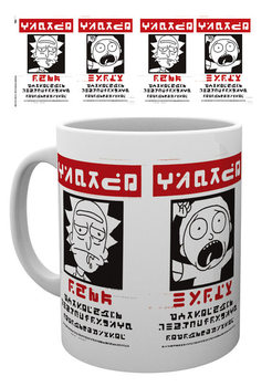 Taza  Rick And Morty - Wanted