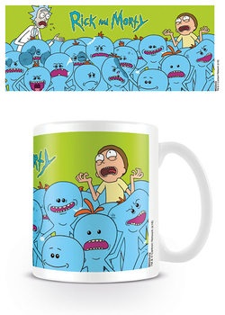 Taza  Rick & Morty - Mr. Meeseeks