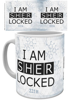 Taza Sherlock - Sherlocked