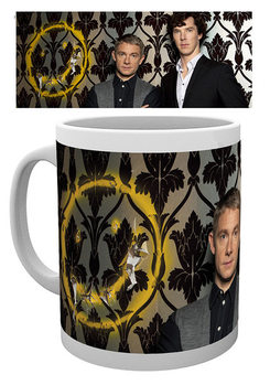 Taza Sherlock - Smiley