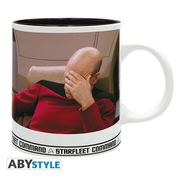 Taza Star Trek - Facepalm