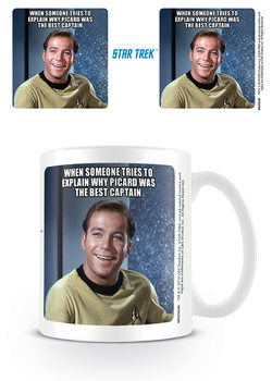 Taza Star Trek - Kirk Laughing