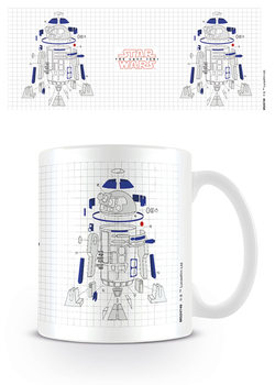 Taza Star Wars: Episodio VIII - Los últimos Jedi - R2-D2 Exploded View