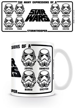 Taza Star Wars - Expressions Of A Stormtrooper