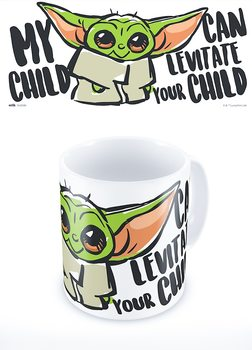 Taza Star Wars: The Mandalorian - My Child Can Levitate Your Child