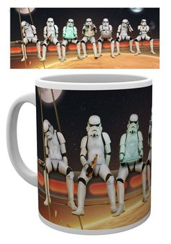 Taza  Stormtrooper - Stormtroopers On A Girder