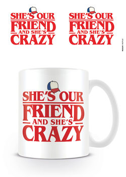 Taza  Stranger Things - Shes Our Friend